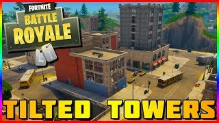 NEW TILTED TOWERS GAMEPLAY | Fortnite Battle Royale