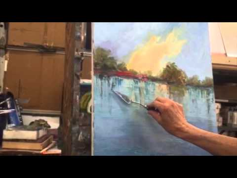Braitman Studio Class Outtakes: Reflection Knife Strokes with Nancy Norris