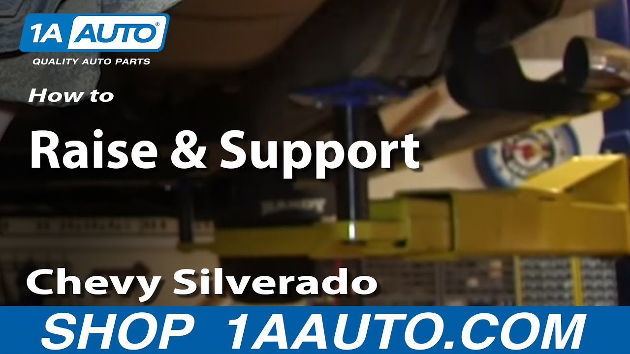 Where to Place Jack and Jackstands Chevy Silverado GMC ...