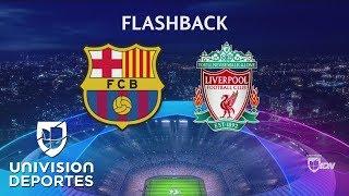 Flashback: Liverpool vence en el Camp Nou al Barcelona y lo elimina en la temporada 2006-2007