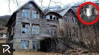 10 Haunted Houses YOU CAN'T ESCAPE From