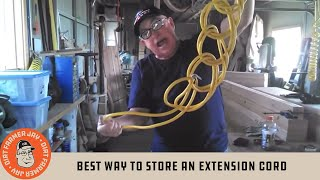 /best way to store an extension cord