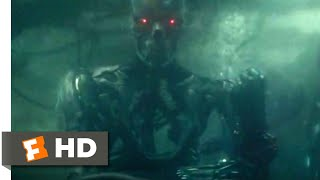 Terminator: Dark Fate (2019) - Underwater Brawl Scene (7/10) | Movieclips