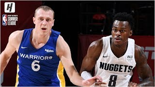 Golden State Warriors vs Denver Nuggets - Full Game Highlights | July 10, 2019 NBA Summer League