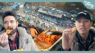 Korean Highway Rest Stop Food 휴게소