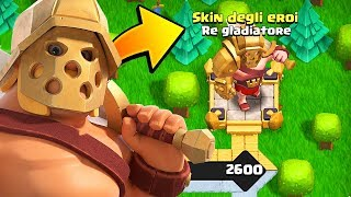 WHAAAT? NUOVO PASS STAGIONALE in Clash of Clans! KING SKIN
