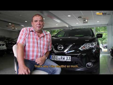 MadBid's Happy 22nd Car Winner