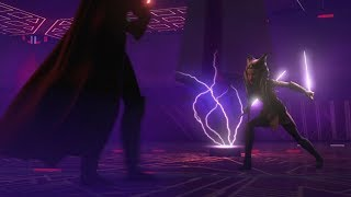 Darth Vader Vs Ahsoka - Full Duel (Twilight Of The Apprentice + A World Between Worlds)