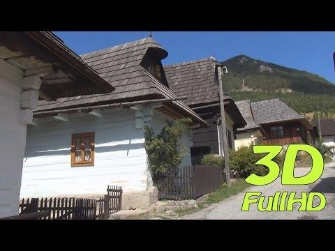 [3DHD] Walking Tour: Vlkolínec, Slovakia / Pěší výlet: Vlkolínec, Slovensko