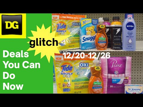 Dollar General Deals You Can Do Now 12/20-12/26