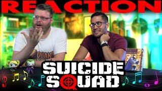 Suicide Squad Comic-Con Soundtrack Remix REACTION!!