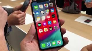 First look at the Apple iPhone XS, XS Max and XR