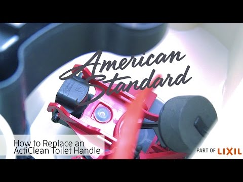 Toilet Flapper Replacement – ActiClean Self-Cleaning Toilet by American Standard