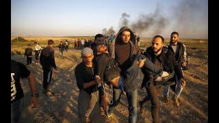 تراجع حدة المواجهات في المنطقة الحدودية داخل قطاع غزة     -