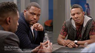 Dre Debates The Word at Work - black-ish