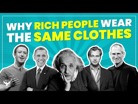 Why Rich People Wear The Same Clothes