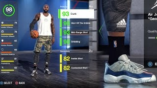 MAXED OUT ATTRIBUTES, TRAITS, ANIMATIONS & CRATE OPENING! NBA Live 18 Live Run Gameplay Ep. 14