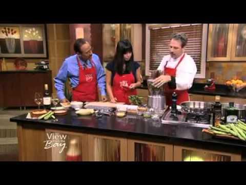 Crispy Fava Bean Ravioli - Dory Ford from AQUA TERRA Culinary