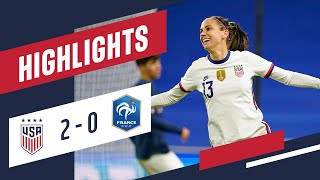 USWNT vs. France: Highlights - April 13, 2021