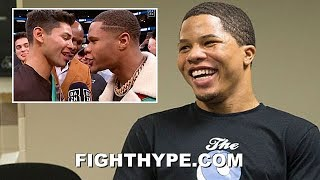 "GERVONTA DAVIS REACTS TO RYAN GARCIA & DEVIN HANEY CONFRONTATION AFTER FONSECA KO: ""TOO CORNY"""