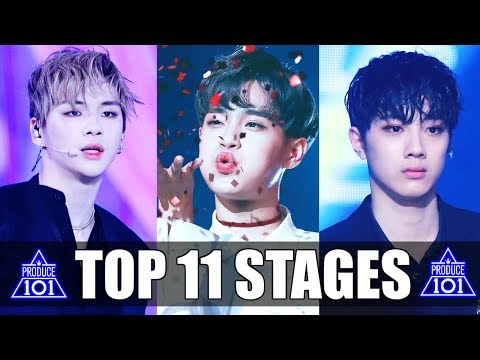 PRODUCE 101 SEASON 2: TOP 11 STAGES