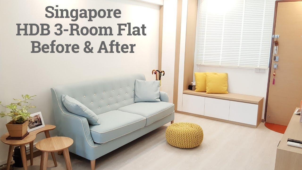 3 Room Flat reno sg