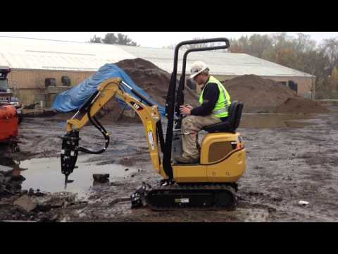 MasterRents Caterpillar 300.9 Mini Excavator with hydraulic