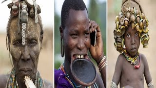 African Dassanech Tribe Turns Western Rubbish into Jewellery