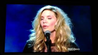 Alison Krauss sings Angel Flying Too Close to the Ground Willie Nelson Gershwin Award