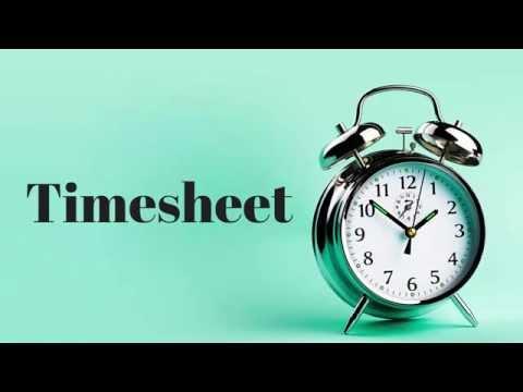 Timesheet Generated by Yaware.TimeTracker