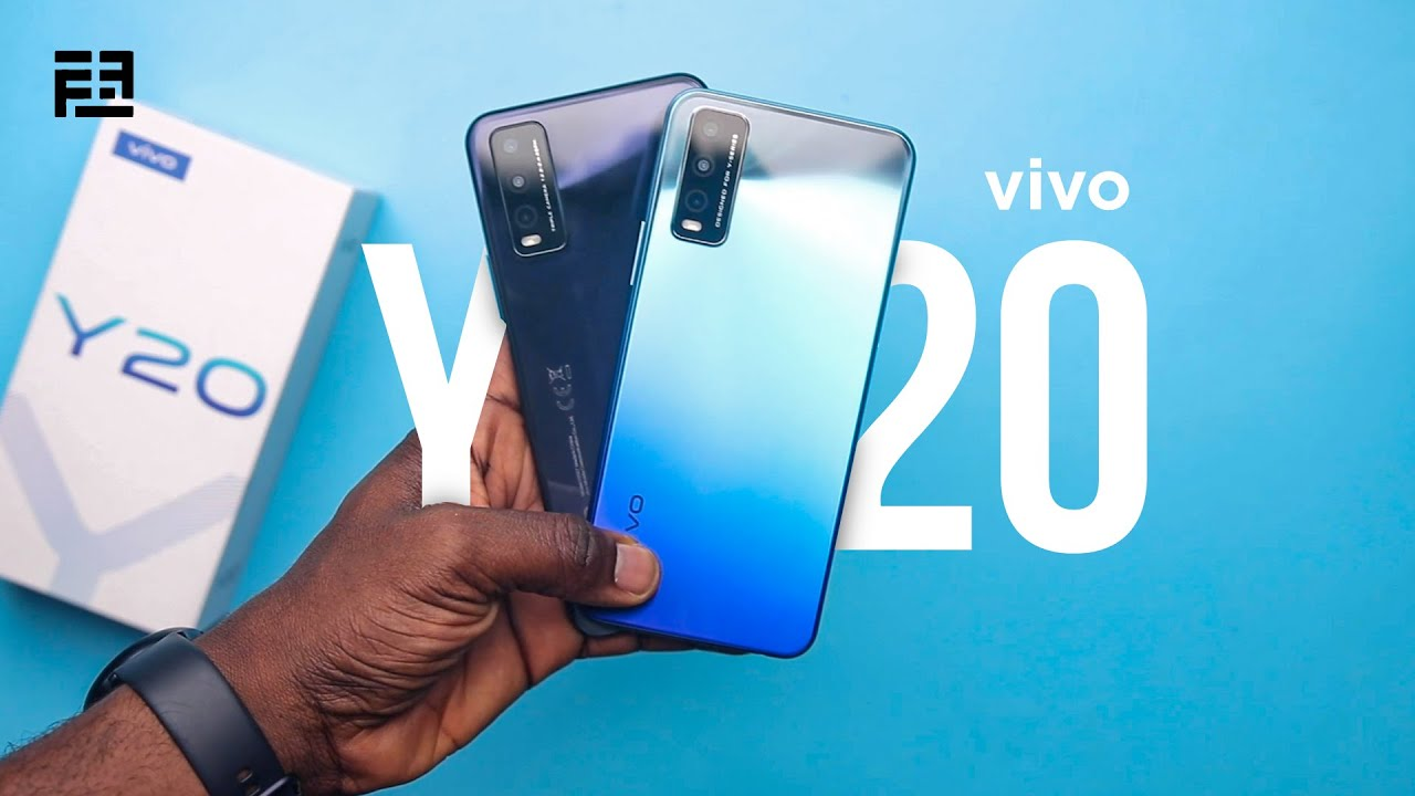 video Vivo Y20 4GB RAM /  64GB ROM Android 10