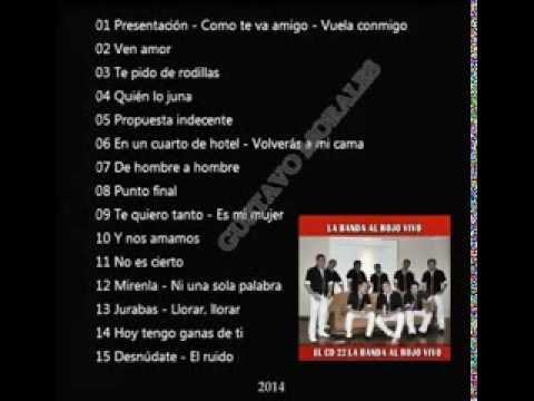 LA BANDA AL ROJO VIVO   EL CD 22   2014