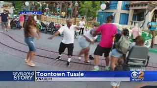 WATCH: Brawl Breaks Out Inside Disneyland's Toontown Amid Children