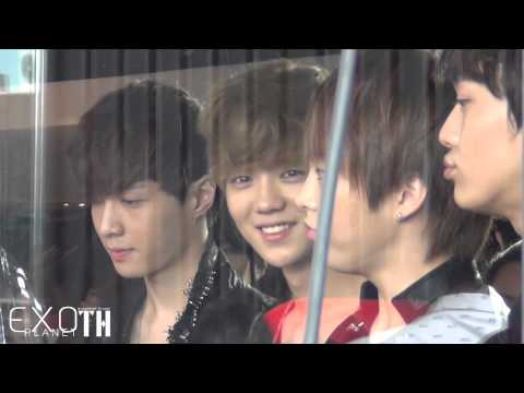 [Fancam]120727 EXO-M at Chao Doo Woody