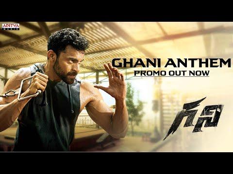 Ghani Anthem promo- Varun Tej
