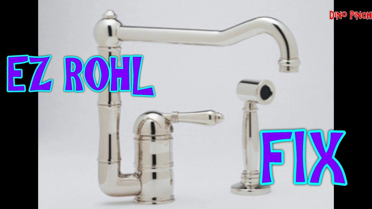 Fix Rohl Faucet Amp Soap Pump Video Youtube