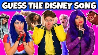 Guess the Disney Song Challenge (2018) Totally TV