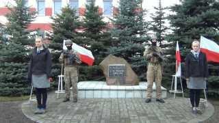 Uroczystość gminnych obchodów 95 rocznicy odzyskania Niepodległości przez Polskę w Gminie Wągrowie