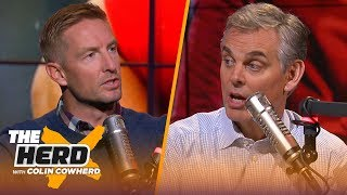 Joel Klatt discusses if Utah deserves final CFP spot, Harbaugh's future at Michigan | CFB | THE HERD