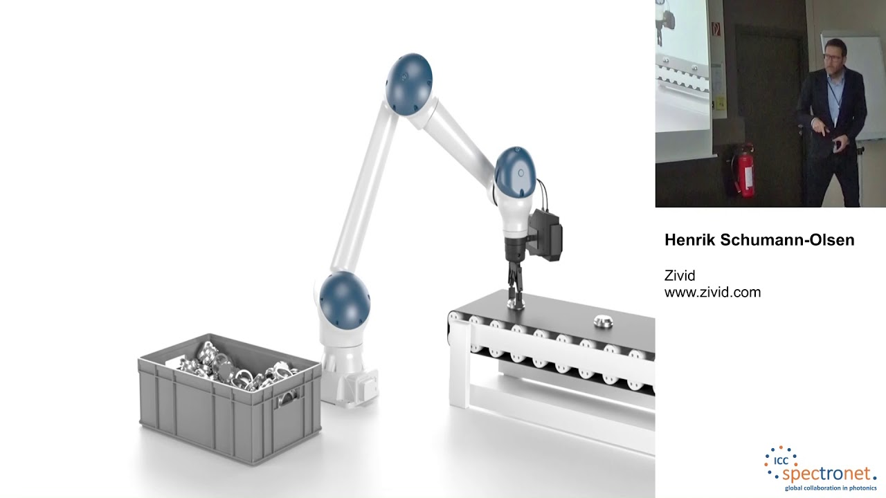 Improving productivity with high-quality, eye-safe 3D machine vision - Machine Vision Technology Forum 2019