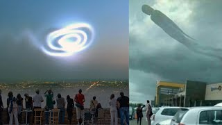 7 Unexplained Mysteries In The Sky Caught On Camera #2