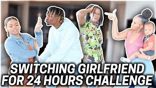 Switching GIRLFRIENDS With NYYEAR AND JALYN For 24 HOURS!!!😱