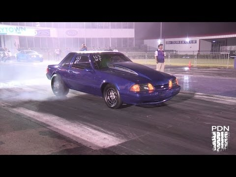 LS powered Mustang - First Pass - 510 Race Engineering