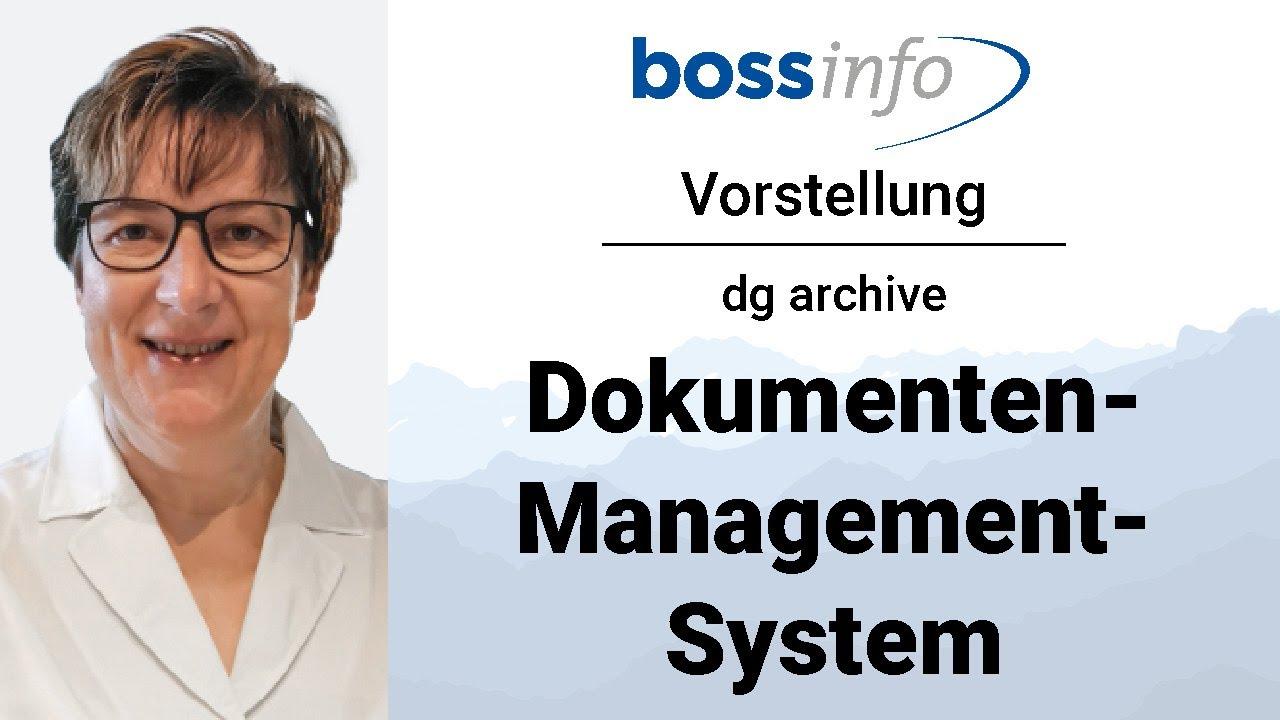Integration von Boss DMS (Dokumentenmanagement-System) in Microsoft Dynamics 365 Business Central