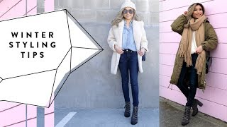 How to Stay Stylish + Warm in Winter | Winter Layering Styling Tips | Miss Louie