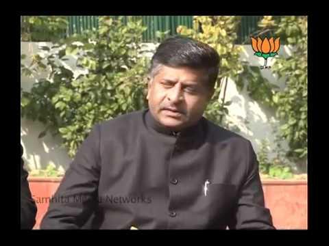 BJP Byte on Digvijay Singh''s Statement: Sh. Ravi Shankar Prasad: 11.12.2010