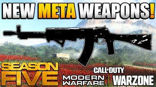 New Meta After the Weapon Balance Update in WARZONE | MOdern Warfare BR Class Setups | JGOD