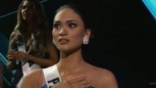 AP - Wrong Miss Universe winner Announced..