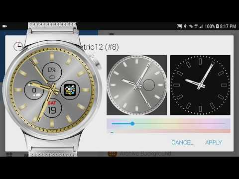 Bubble Cloud Watch Face Pack 8 -