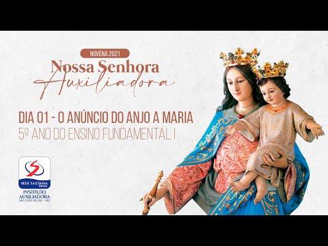 1º DIA   NOVENA DE NOSSA SENHORA AUXILIADORA   TARDE